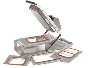 Mantle VS300 Table Top Lidding Machine